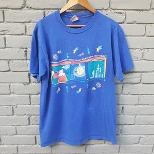 Vintage Walt Disney World 25th Anniversary T - L